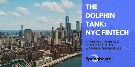 The Dolphin Tank: New York   FinTech tickets