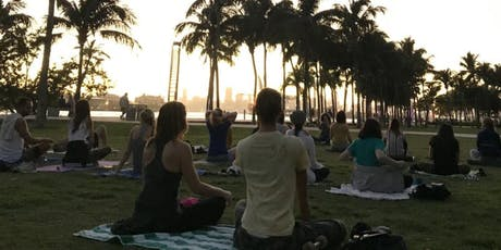 Sunset Weekly Meditation Class (South Pointe Park) FREE tickets