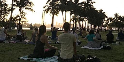 Sunset Meditation Class (South Pointe Park) FREE