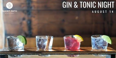 Gin & Tonic Night tickets