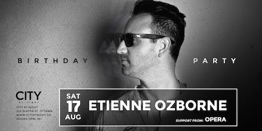 Etienne Ozborne's Birthday at City At Night