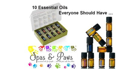INTRO CLASS:  The top 10 Essential Oils (doTERRA) tickets