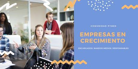 Empresas en Crecimiento | Capacitación PYMES entradas