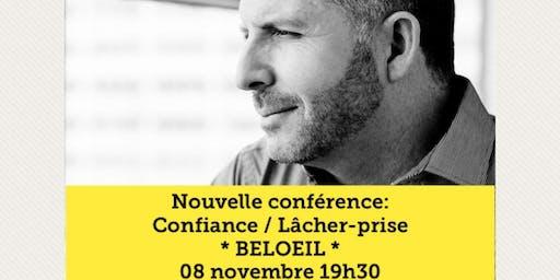 BELOEIL - Confiance / Lâcher-prise 15$