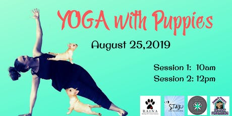 Yoga with Puppies tickets