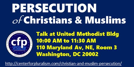 Christians and Muslims persecution tickets
