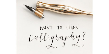 Intro to Modern Calligraphy Workshop tickets