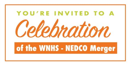 WNHS and NEDCO Merger Celebration tickets