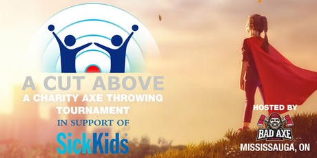 Cut Above - Axe throwing for Charity tickets