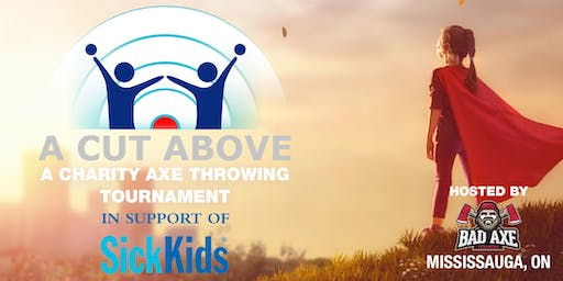 Cut Above - Axe throwing for Charity