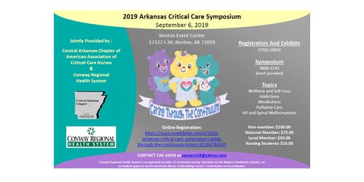 2019  Arkansas Critical Care Symposium - Caring Through the Continuum