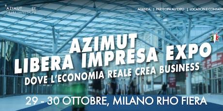 Azimut Libera Impresa Expo biglietti