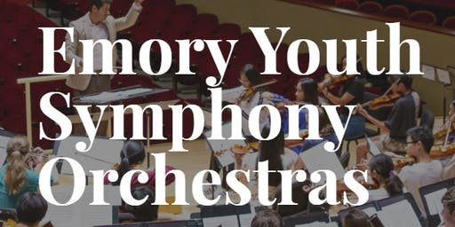 Emory Youth Symphony Orchestra Audition Registration Fee