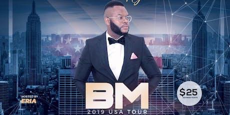 Afro Mashariki Night Hosts B.M USA tour live in Chicago tickets