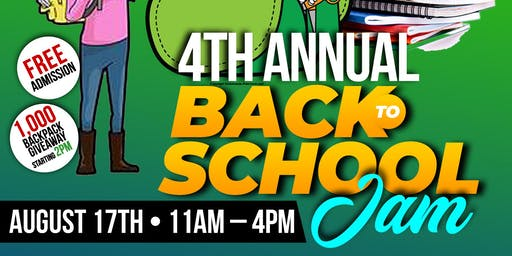 The Kyndall Project 4th Annual Back-To-School Jam