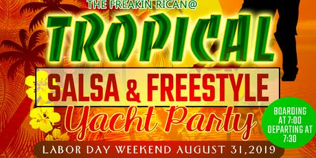 Labor Day Weekend Tropical Salsa & Freestyle Cruise tickets