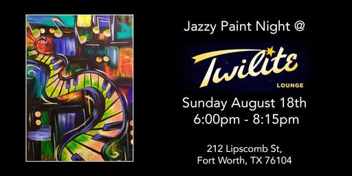 Jazzy Paint Night At Twilite Lounge