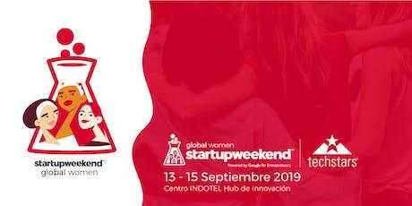 Techstars Global Startup Weekend Santo Domingo Women  tickets
