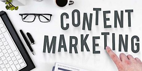 """Curso """"Marketing de Conteúdo para jornalistas"""" - Turma 1 ingressos"""