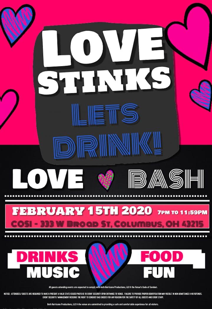 February 7 2020 Calendar Columbus Ohio Love Stinks   Let's Drink! Tickets, Sat, Feb 15, 2020 at 7:00 PM