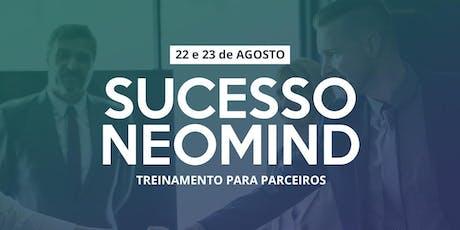 Sucesso Neomind - Treinamento para parceiros ingressos