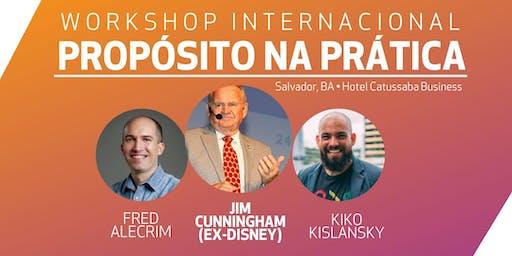 Workshop Internacional: Propósito na Prática com Jim Cunningham