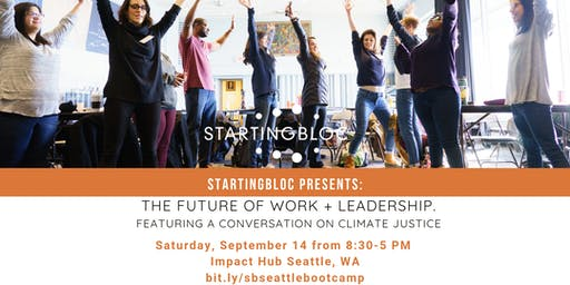 StartingBloc Bootcamp: Seattle