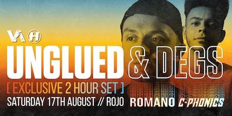 Vanguard invites Unglued & Degs (Exclusive VA 2hr set) tickets