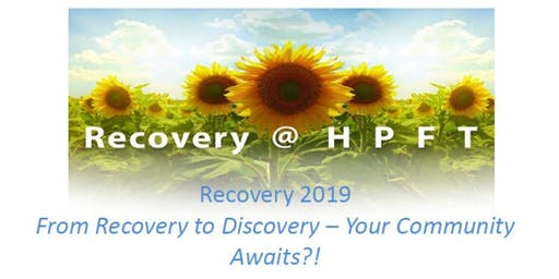Recovery to Discovery - Your Community Awaits?!