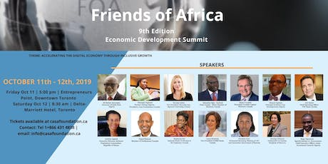 Friends of Africa  2019 (FOA 2019) tickets