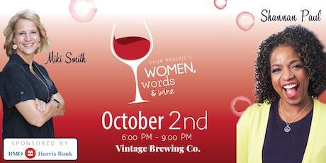 Women, Words & Wine 2019 tickets