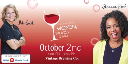Women, Words & Wine 2019