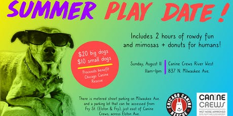 Summer Play Date To Benefit Chicago Canine Rescue tickets