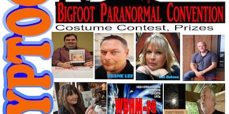 Cryptocon Paranormal/ Bigfoot Convention tickets