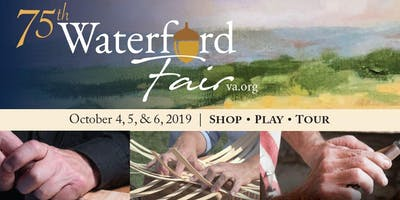 75th Waterford Fair - celebrating all thing #madebyhand!