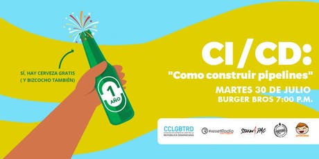 "CI/CD: ""Cómo construir pipelines"" tickets"