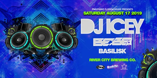 DJ ICEY at River City Brewing Co