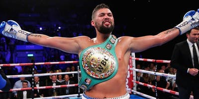 An Evening to Remember with Tony Bellew in Southampton