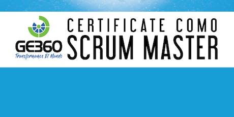 Curso Preparación para la Certificación Scrum Master tickets