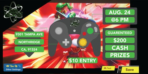 Super Smash Bros Ultimate Tournament Registration