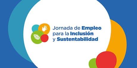 Jornada de Empleo para la Inclusión y Sustentabilidad entradas