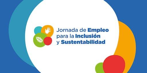 Jornada de Empleo para la Inclusión y Sustentabilidad