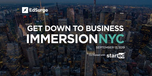 EdSurge Immersion NYC 2019