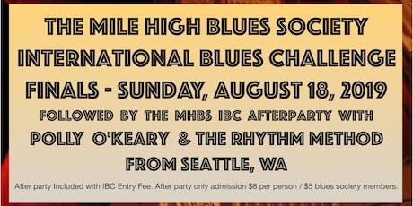 International Blues Challenge FINALS tickets