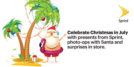 Free Pictures with Santa for Christmas in July!