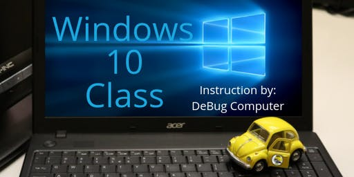 Windows 10 Computer Basics - Aug. 13