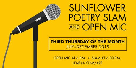 Sunflower Poetry Slam & Open Mic tickets