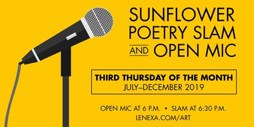 Sunflower Poetry Slam & Open Mic
