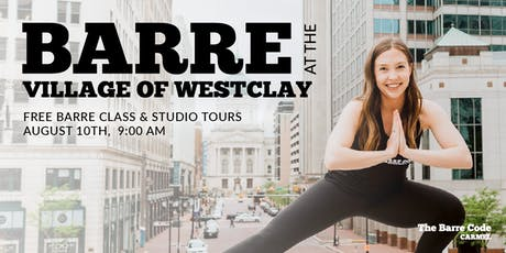 The Barre Code at The Village of WestClay (FREE Class & Studio Tours!) tickets