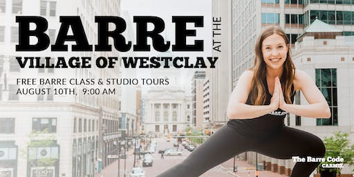 The Barre Code at The Village of WestClay (FREE Class & Studio Tours!)